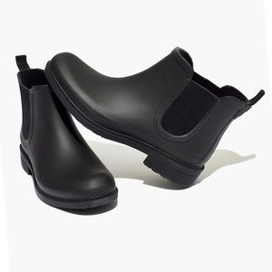 Madewell Black The Chelsea Rain Boot